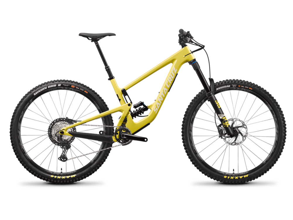 Santa Cruz Megatower 29 - Carbon C- XT - Yellow - Coil - Größe XL