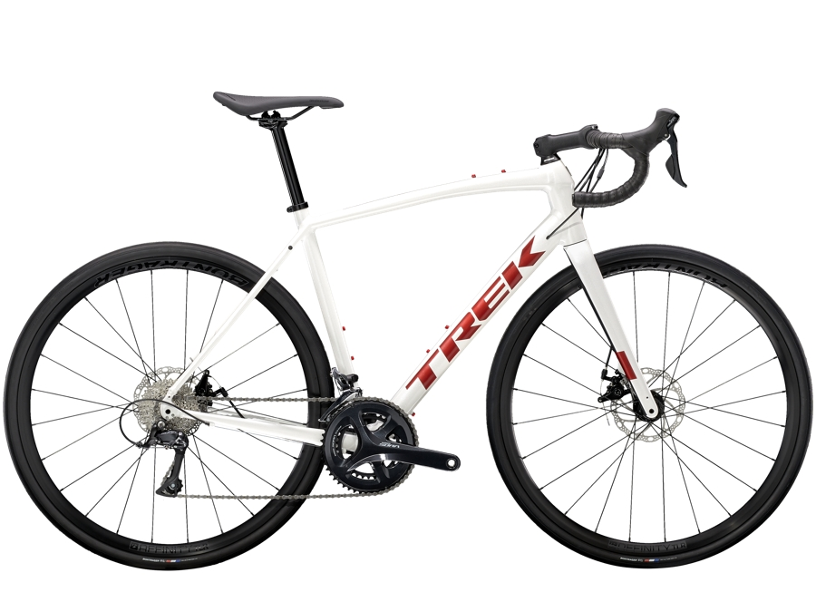 Trek Domane AL 3 Disc 52 Crystal White/Matte Trek Black